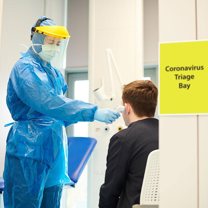 COVID Healthcare Physician